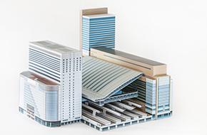 Osaka Station Papercraft