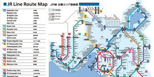 JR Line Route Map
