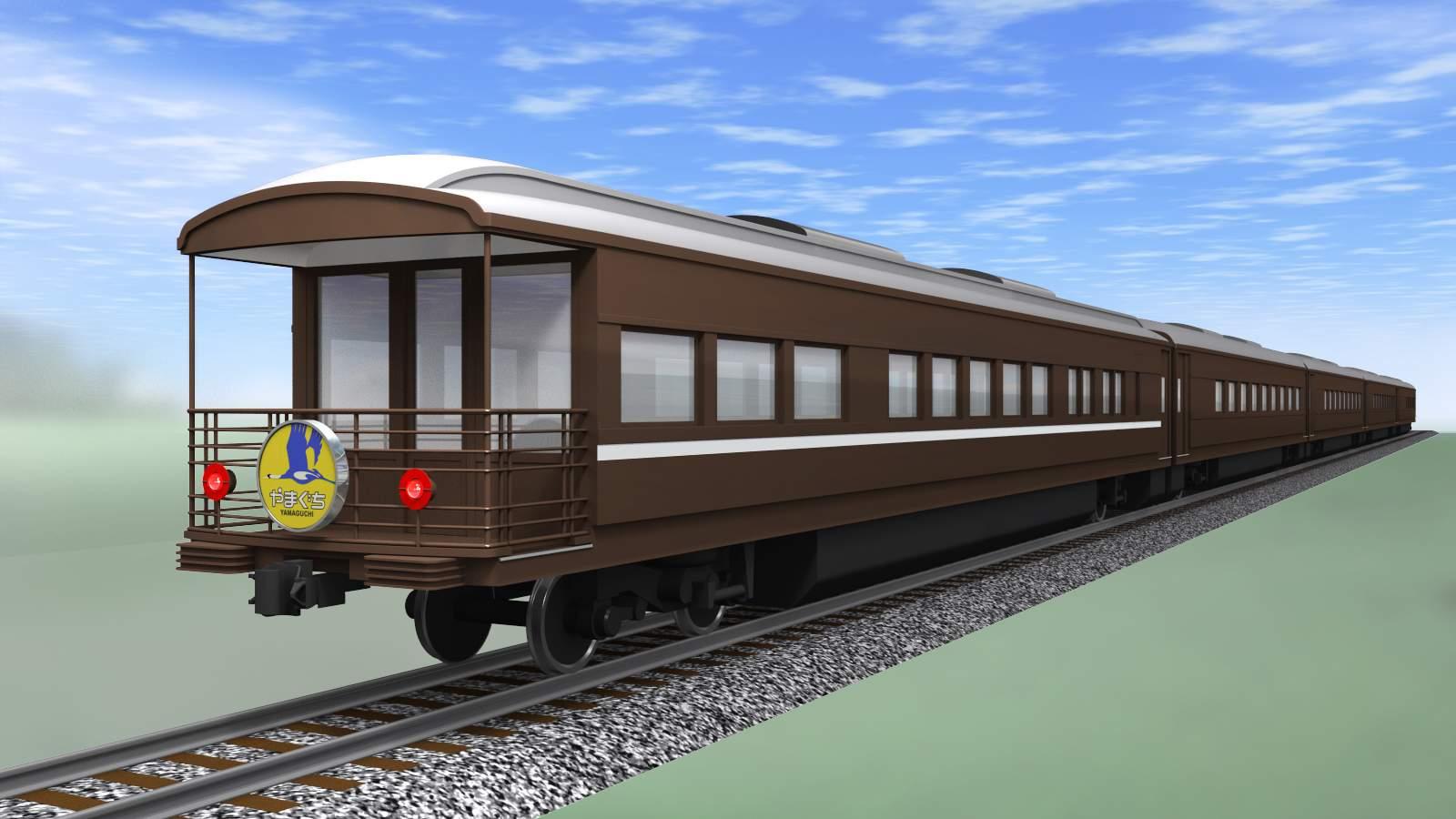 客車全体イメージ図 (1)新客車の車内設備等 1号車では、当時の1等車の重厚な雰囲気を味わ...